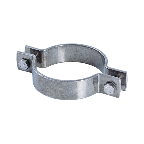 Saddle type pipe clamp | EN 1.4404 | AISI 316L