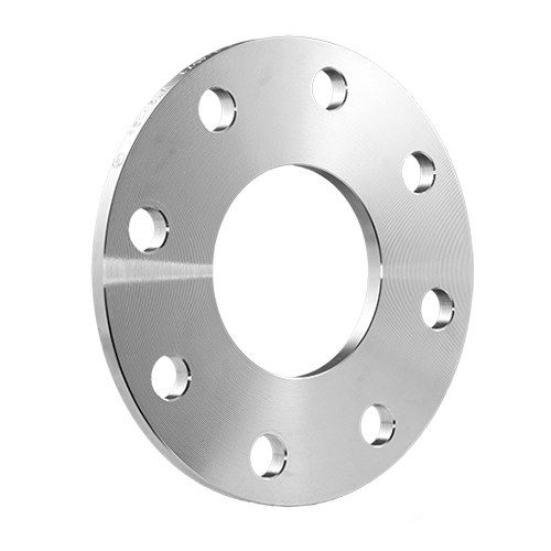 EN 1092 plate flange for welding type 01, reduced thickness | EN 1.4404 | AISI 316L